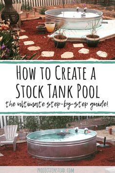 How to Create a DIY Stock Tank Pool: The Ultimate Guide – Rooted Revival aka. Project Zenstead How to Create a DIY Stock Tank Pool: The Ultimate Guide – Rooted Revival aka. Stock Pools, Stock Tank Pool, Diy Swimming Pool, Diy Pool, Swimming Pool Designs, Do It Yourself Pool, Backyard Makeover, In Ground Pools, Small Above Ground Pool