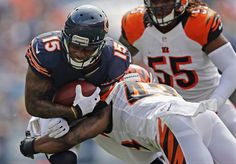 Bengals Bears Football Brandon Marshall, George Iloka