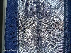 Интерьер Вязание спицами Шторки-занавесочки для кухни Пряжа фото 7