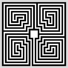 The Roman Labyrinth  Meander type