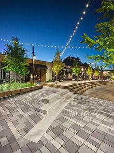McBurney Lane by Hapa Collaborative « Landscape Architecture Works Landscape Elements, Landscape Architecture Design, Contemporary Landscape, Urban Landscape, Architecture Details, Landscape Plaza, Pavement Design, Plaza Design, Paving Pattern