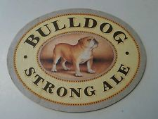 Sous bock Bulldog Strong ale