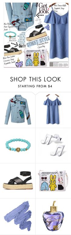 """""""SheIn Denim Style"""" by lillili25 ❤ liked on Polyvore featuring Lolita Lempicka, Sheinside, polyvoreeditorial and shein"""