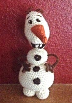 A personal favorite from my Etsy shop https://www.etsy.com/listing/247821080/olaf-crochet-amigurumi