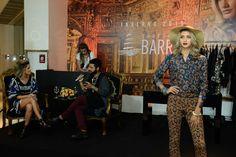 1º Dia do Barra Fashion Day - Outono/inverno2015 - Tendência Boho Dark. Com Paula Magalhães e  Aládio Marques