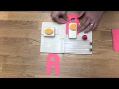 Alphabet Punch Board We R Memory Keepers New!! - YouTube
