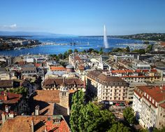 Geneva, Switzerland, many work trips in the Spring. Lots of great meals and time with friends.