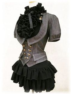 I need this jacket in my life. I deserve this jacket in my life.DieselSteamGypsy