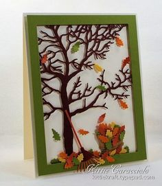 Falling Leaves by kittie747 - Cards and Paper Crafts at Splitcoaststampers