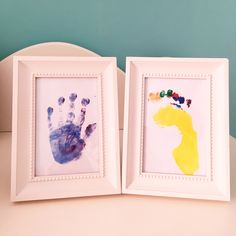 Baby hand and foot print
