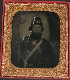 CIVIL WAR TINTYPE PORTRAIT SOLDIER 1816 SPRINGFIELD, DOUBLE BARREL PISTOL.   | eBay