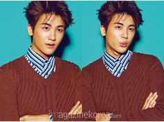 ZE:A Hyung Sik - Esquire Magazine February Issue '15