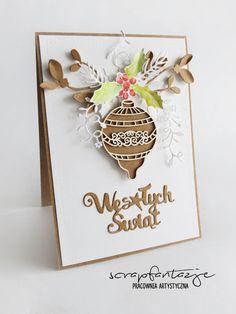 scrapfantazje, christmas card