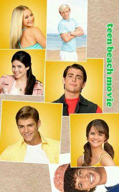 Teen beach movie I love leila It Movie Cast, 2 Movie, Tean Beach Movie, Teen Bech, Grace Phillips, Disney Channel Shows, Ross Lynch, Disney Stars, Garrett Clayton