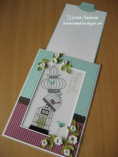 Kirstens Stempelkiste: Magic-Card