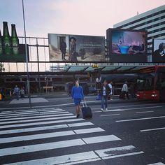 #street #onthestreet #streetlife #straat #opstraat #everyday #project2017 #schiphol #bus #crosswalk #zebracrossing #pedestriancrossing #stewardess #billboard #billboards #heineken #scotchandsoda #zebrapad #reclameborden