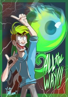 ALL THE WAY!!! by IvaTheHuman on DeviantArt