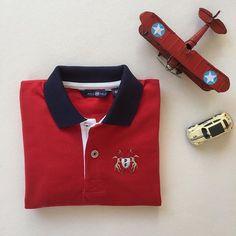 ♥️ Noël approche...  Polo Rouge manches longues en Jersey 100% coton ♥️ . . #couleurs #picoftheday #instapic #instakids #kidsclothing #kidsclothes #polos #classic #rouge #coton #modeenfant #photooftheday #enfants #kids #kidswear #kidsstyle #kidsfashion #children #style #kid #modeenfantine #chic #enfant #vetementsenfants #modeenfants #photodujour #bonheur #eshop #creation #polofield_official