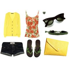 pretty summer outfit!