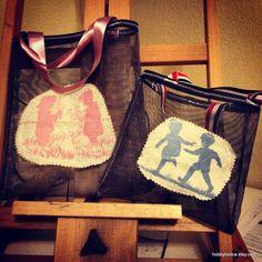 Mesh Explorer Bags by hobbyholica on Etsy, $5.00