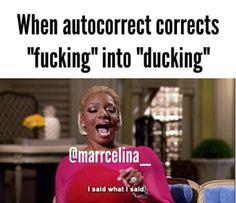 Trying ro swear like →