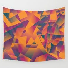 Another crazy sunset Wall Tapestry