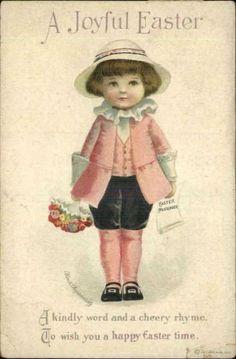 postcard.quenalbertini: Vintage Easter Card - Ellen Clapsaddle Art | eBay