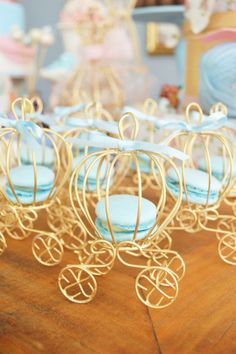 These 21 Magical Cinderella Birthday Party Ideas will help you create the most memorable celebration. Get ideas for desserts, decorations, cakes and more. Cinderella Sweet 16, Cinderella Theme, Cinderella Birthday, Cinderella Wedding, Quince Decorations, Quinceanera Decorations, Quinceanera Party Favors, Disney Princess Party, Princess Theme