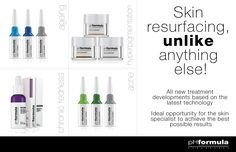 Skin resurfacing has been refined into something of an art form by pHformula who created the first dermatological pharma-cosmeceutical skin resurfacing treatment line, to treat skin disorders such as hyperpigmentation, acne, chronic redness and ageing. #antiaging #acne #skincare #treatment
