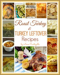 Roast Turkey & Turkey Leftover Recipes eBook For FREE!