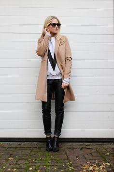 H&M Coat, H&M Pants