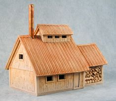 sugar shack design   Build this tiny house  Sugar House plans    Very cool sugar house