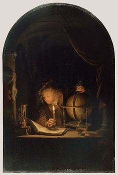 Astronomer by Candlelight - Google Arts & Culture