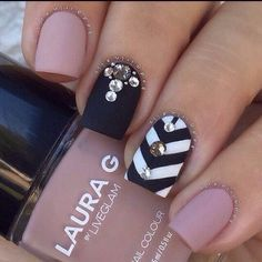 27 Matte Nail Designs You'll Love #Beauty #Musely #Tip