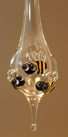 Bumble Bee Ornament, Carlyn Galerie: