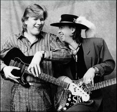 Jeff Healey and Stevie Ray Vaughan