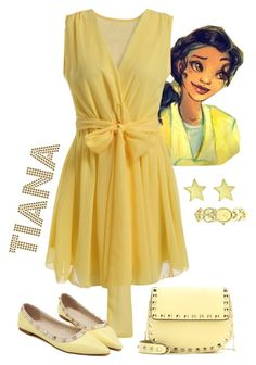 """""""Tiana"""" by violetvd ❤ liked on Polyvore featuring Valentino and Tiffany & Co."""