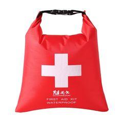 Canoe Camping Gear    Fenteer Waterproof 1.2L and 5L First Aid Kit Bag  Emergency 32cd38c6aaf67