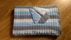 Crochet baby blanket/ Baby boy blanket/ Baby shower gift/