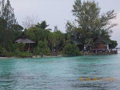 Pantai Pulau Lankayan, Sabah, Malaysia