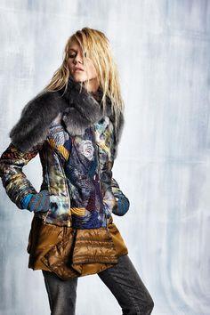 #danieladallavalle #collection #elisacavaletti #fw15 #blue #brown #sand #jacket