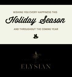 Have an Elysian Holiday Season Xmas Cards, Teak, Wish, Range, Seasons, Happy, Holiday, Christmas E Cards, Christmas Cards