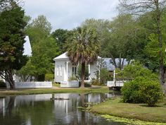 Acadian Village, Lafayette, Louisiana  -- a restored Cajun community from the 1800s