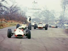 John Surtees, Graham Hill, Mike Spence Oulton Park 1967