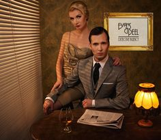 Evans & Peel - a detective meets you at the door of this 1920's Prohibition style bar in a secret location