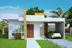plantas de casas – fachadas de casas – cód 100
