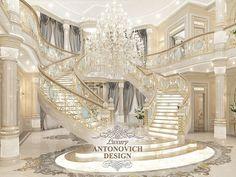 первоклассный дизайн интерьера дома классика