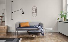 Skandinavisch einrichten im Wohnzimmer: Sonnengruss für die Einrichtung