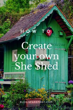 Her country french garden getaway so cute she sheds for Design your own barn house