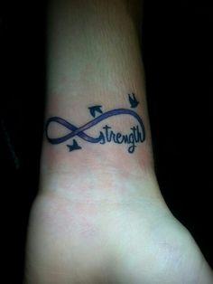 Strength tattoo mine (: